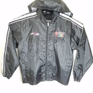 NEW Nascar Kyle Busch M&Ms Mens L Full Zip Jacket